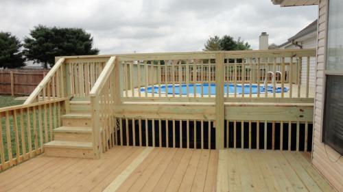 Hyronemus pool deck